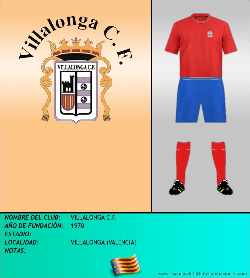 Escudo de VILLALONGA C.F.