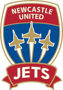Escudo de NEWCASTLE UNITED JETS F.C. (AUSTRALIA)