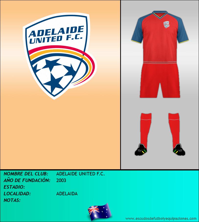 Escudo de ADELAIDE UNITED F.C.