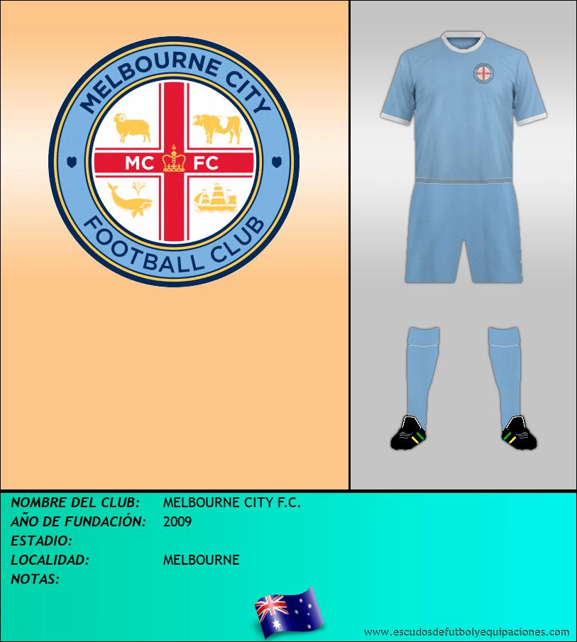 Escudo de MELBOURNE CITY F.C.
