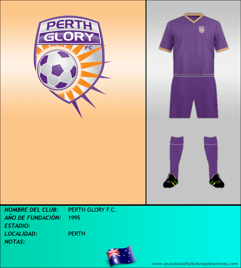Escudo de PERTH GLORY F.C.