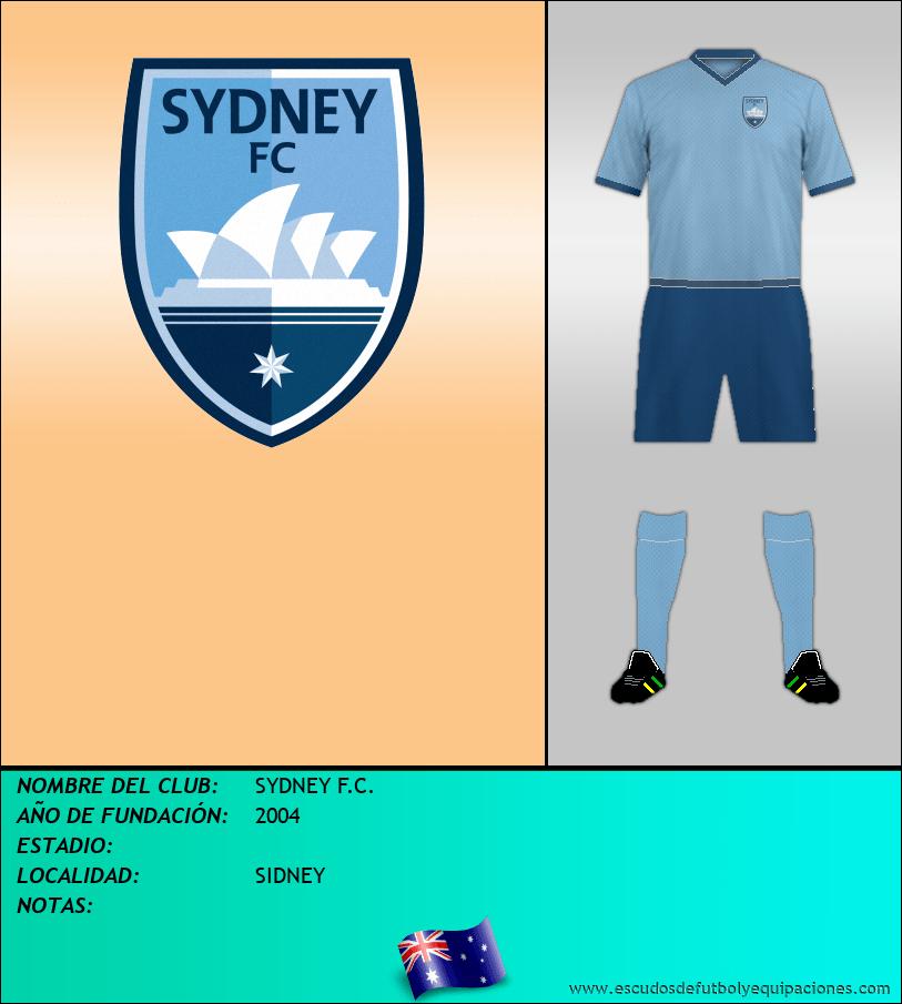 Escudo de SYDNEY F.C.