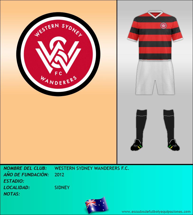 Escudo de WESTERN SYDNEY WANDERERS F.C.