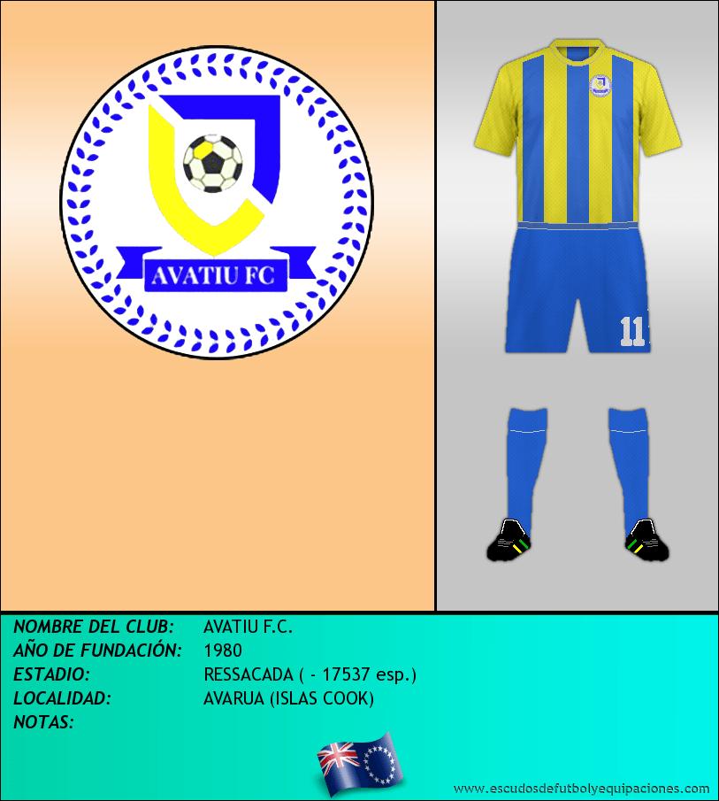 Escudo de AVATIU F.C.