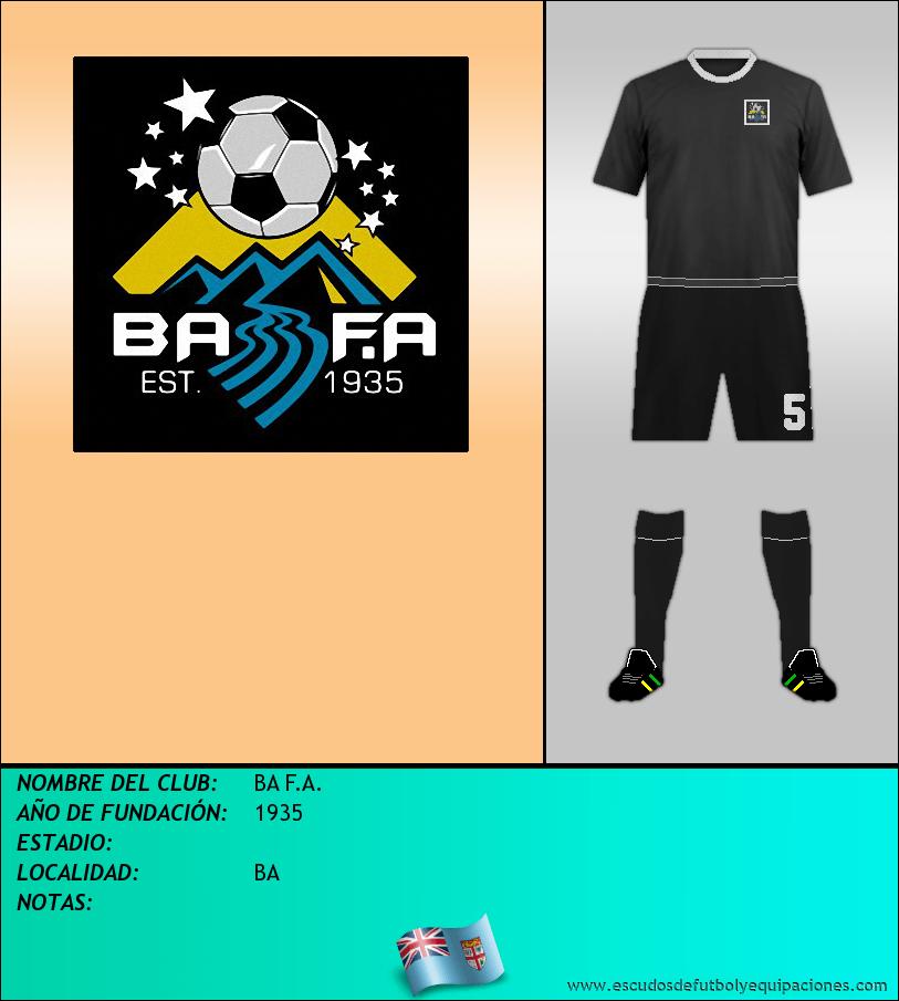 Escudo de BA F.A.