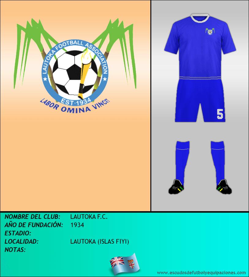 Escudo de LAUTOKA F.C.