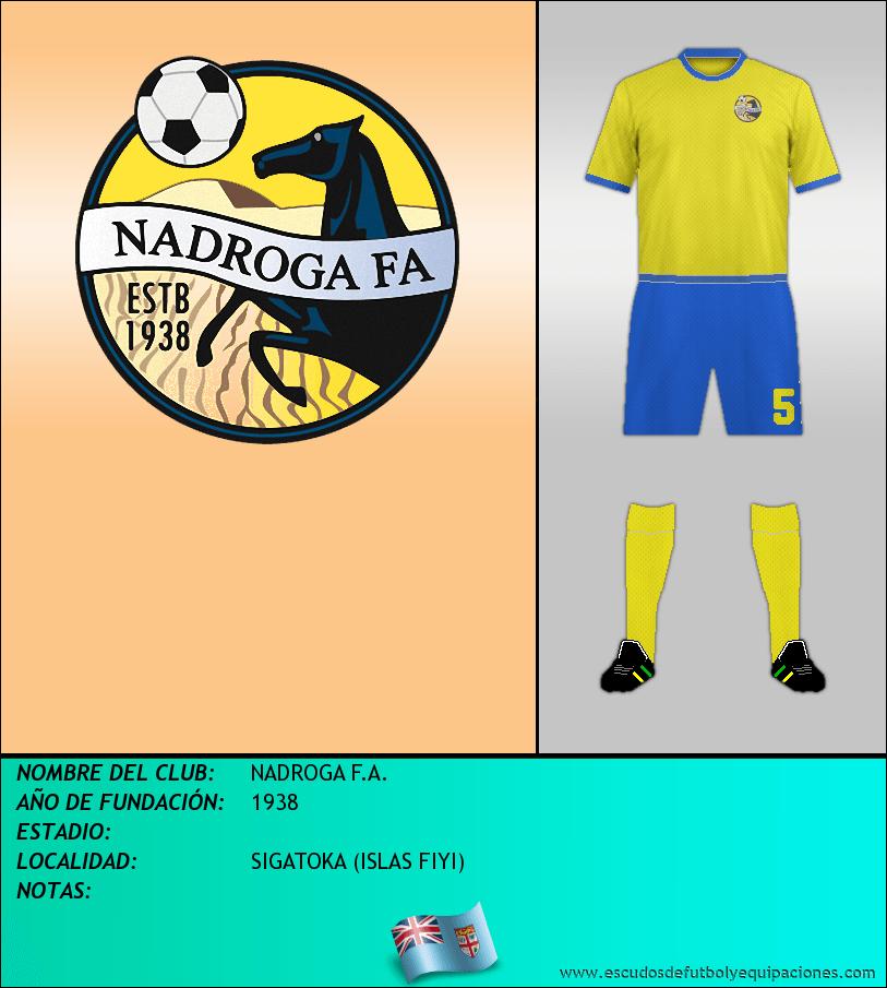 Escudo de NADROGA F.A.