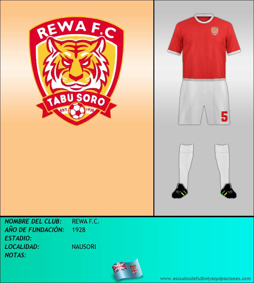 Escudo de REWA F.C.