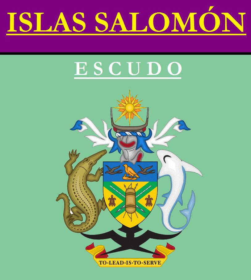Escudo de ESCUDO DE ISLAS SALOMÓN