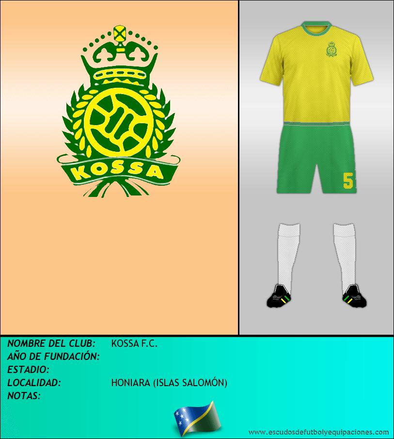 Escudo de KOSSA F.C.