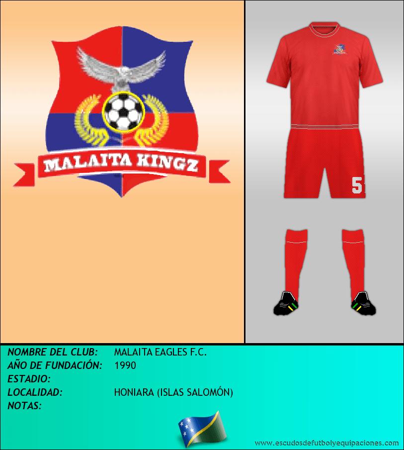 Escudo de MALAITA EAGLES F.C.