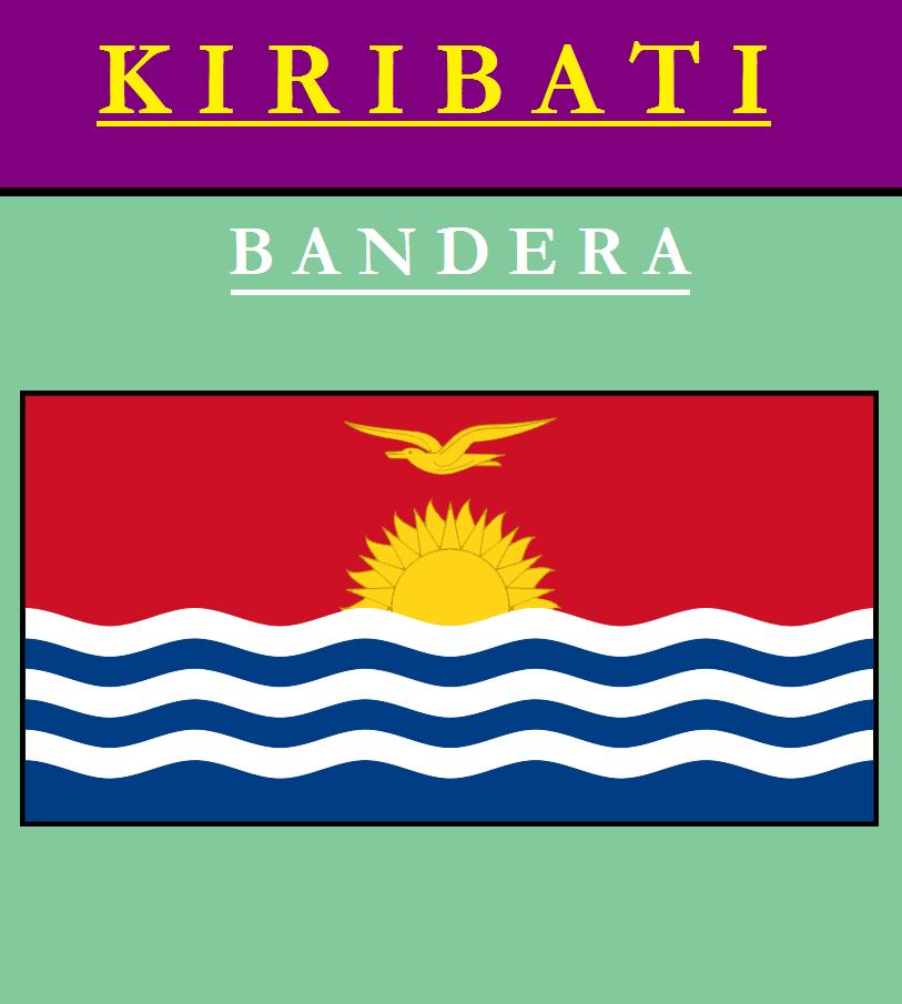 Escudo de BANDERA DE KIRIBATI