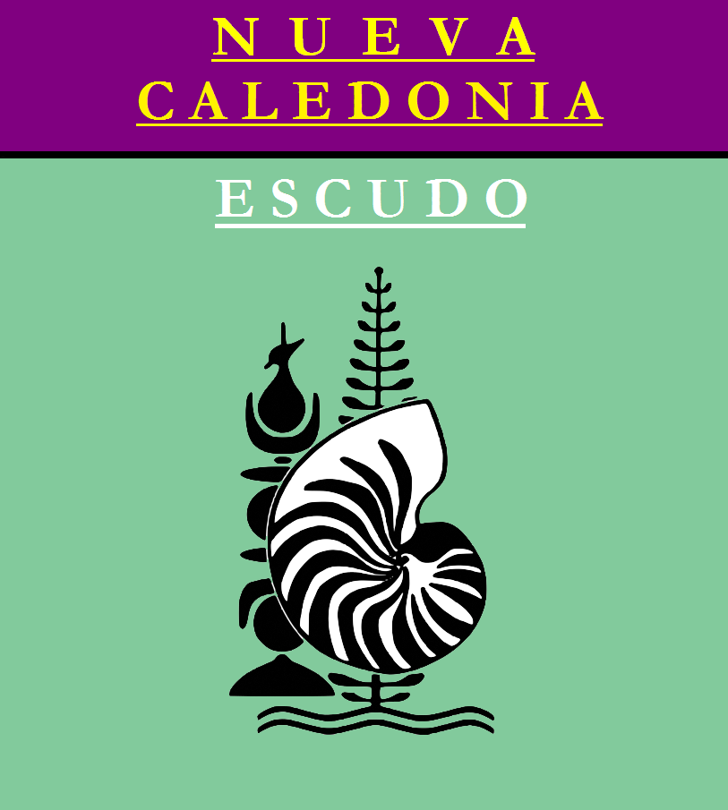 Escudo de ESCUDO DE NUEVA CALEDONIA