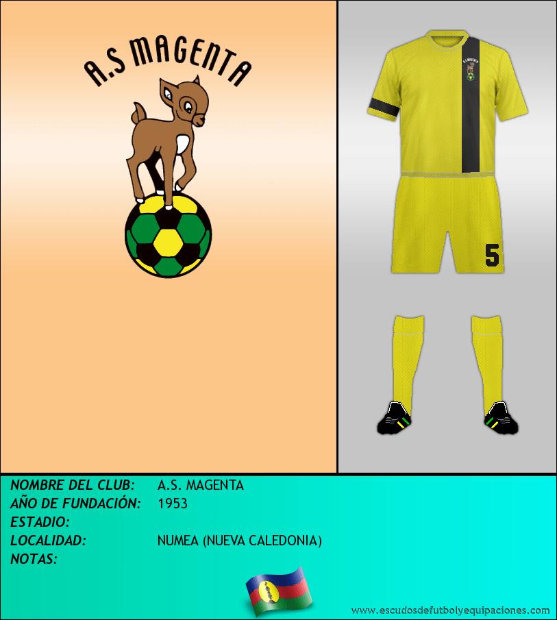 Escudo de A.S. MAGENTA