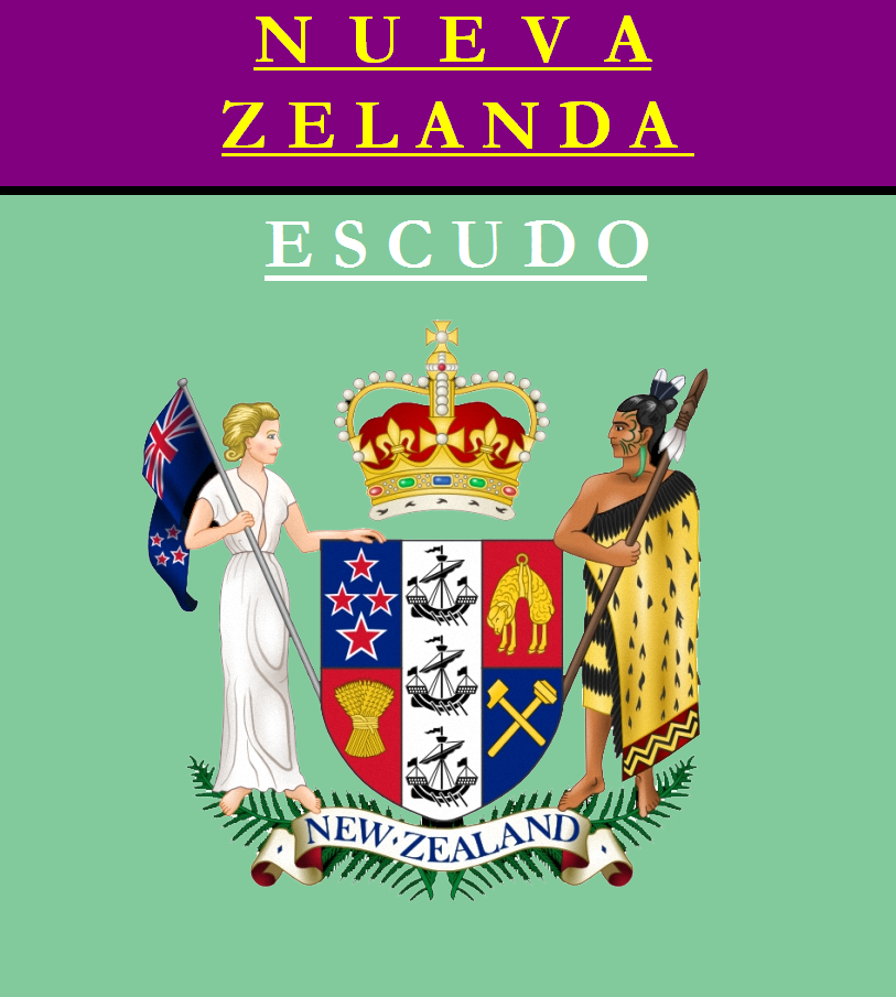 Escudo de ESCUDO DE NUEVA ZELANDA