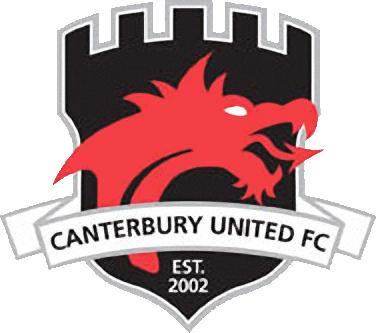 Escudo de CANTERBUTY UNITED F.C. (NUEVA ZELANDA)