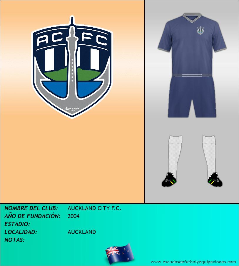 Escudo de AUCKLAND CITY F.C.