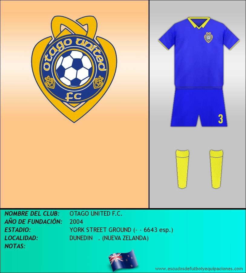Escudo de OTAGO UNITED F.C.