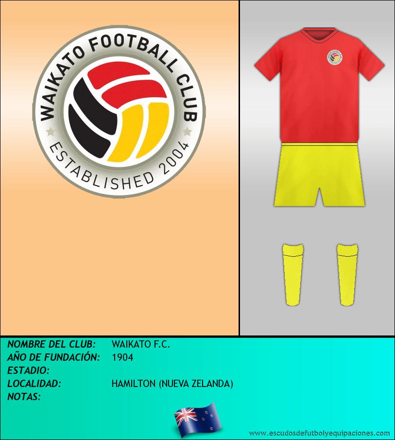 Escudo de WAIKATO F.C.