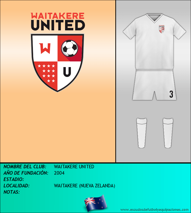 Escudo de WAITAKERE UNITED