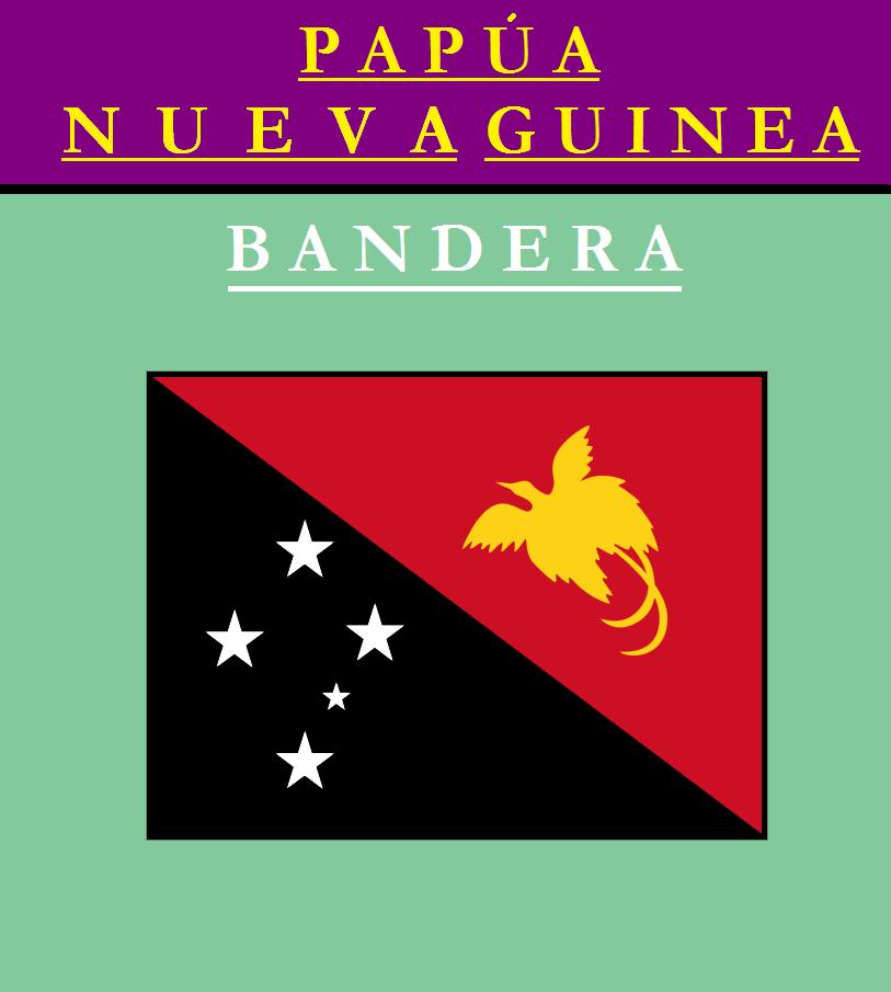 Escudo de BANDERA DE PAPÚA NUEVA GUINEA