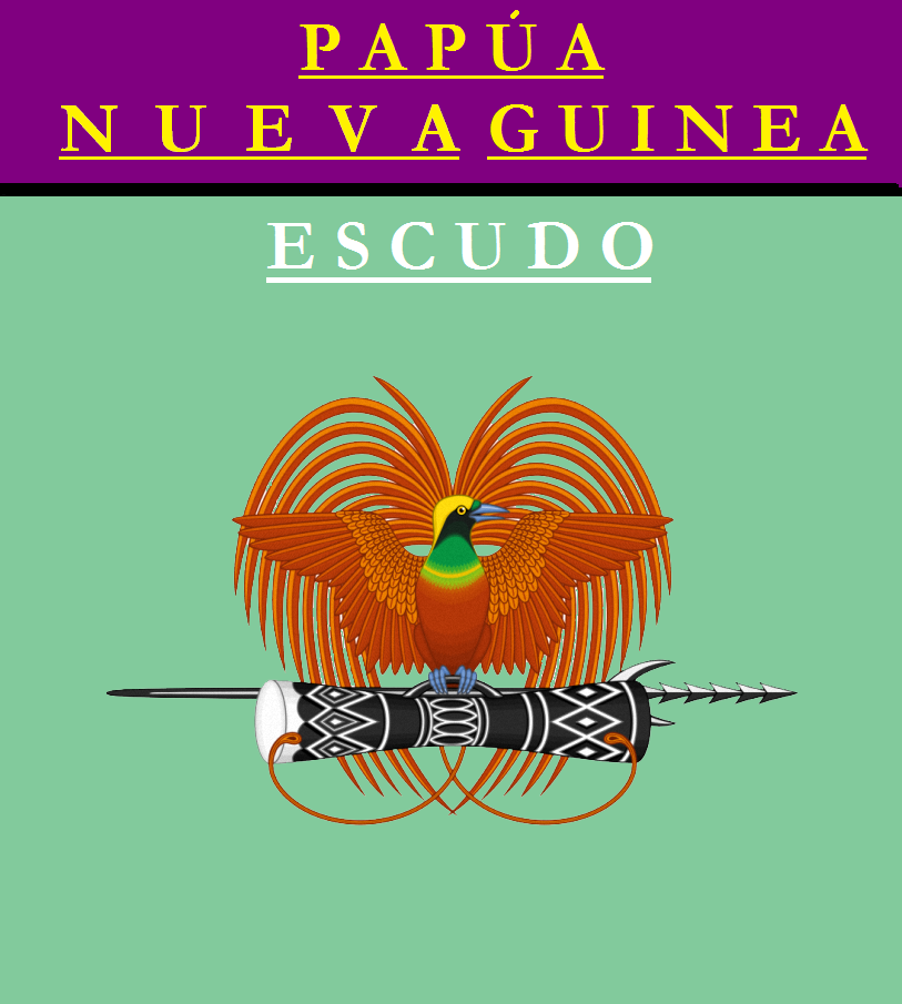 Escudo de ESCUDO DE PAPÚA NUEVA GUINEA