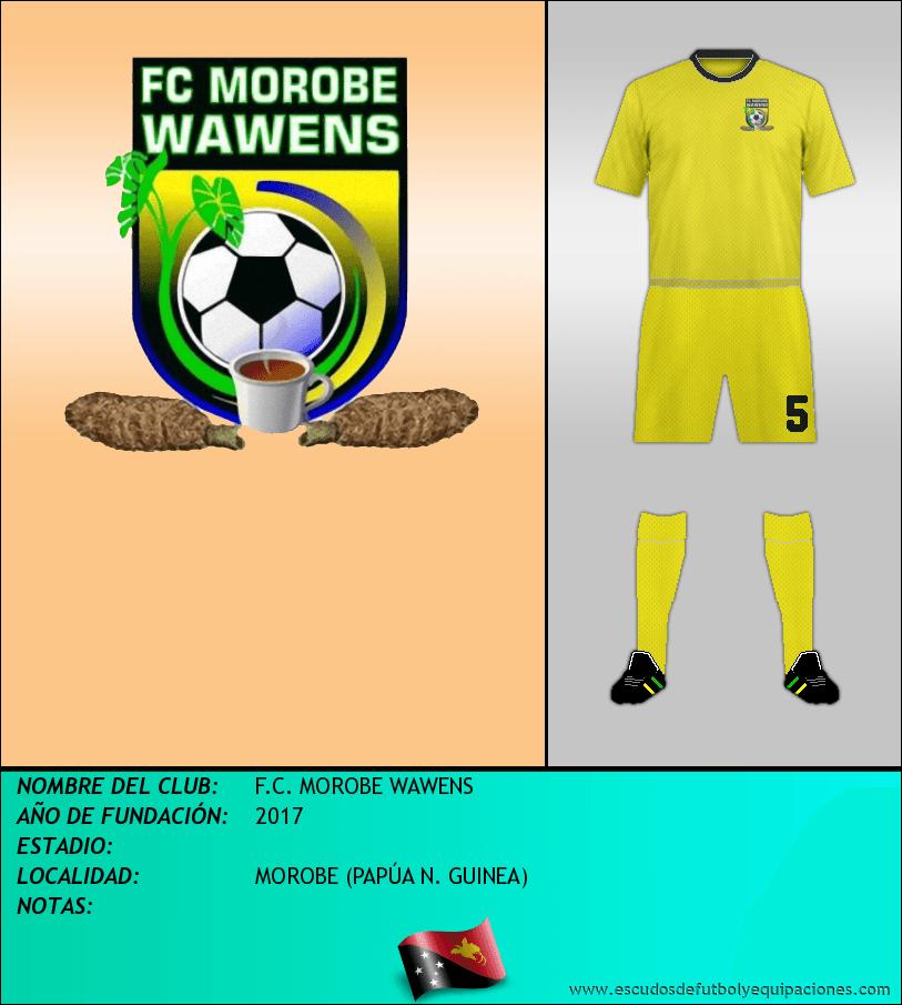 Escudo de F.C. MOROBE WAWENS