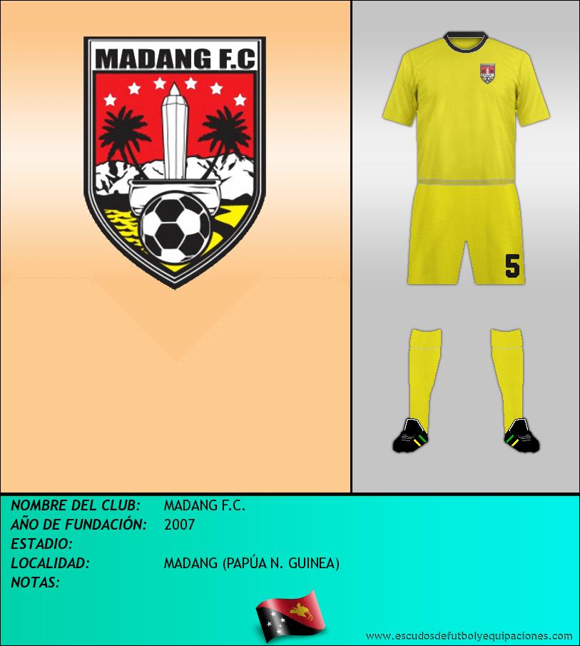 Escudo de MADANG F.C.