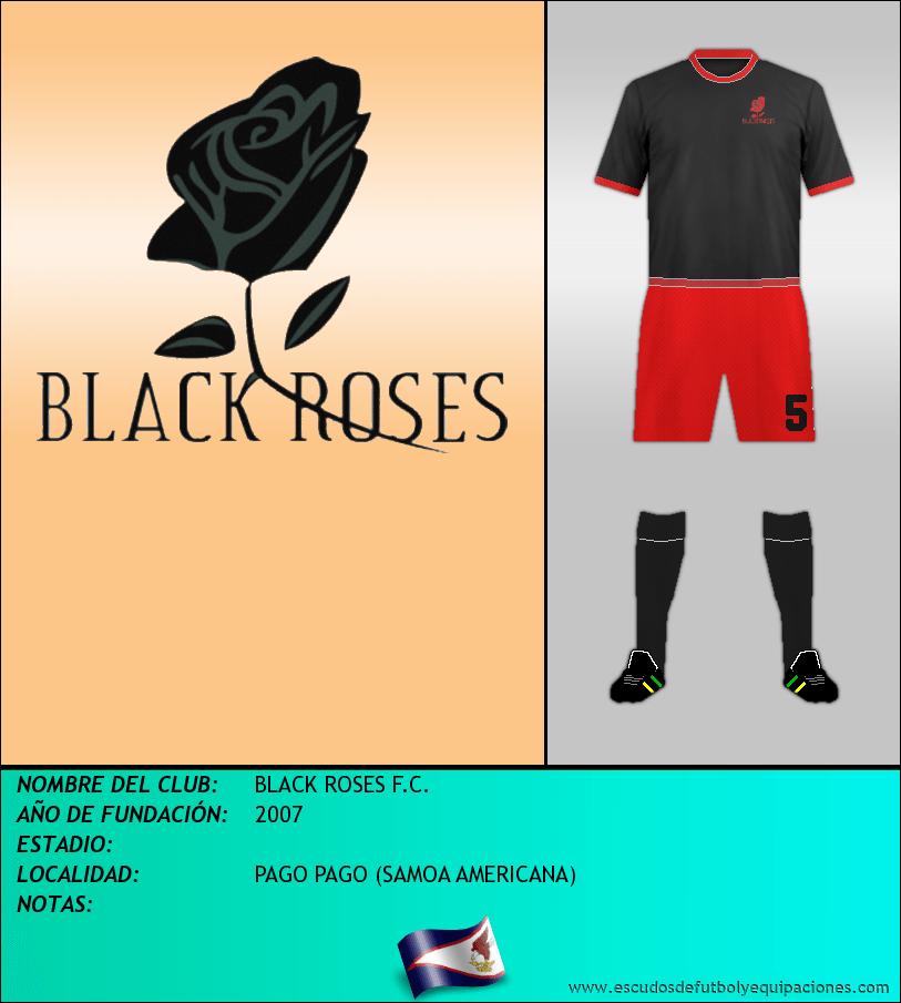 Escudo de BLACK ROSES F.C.