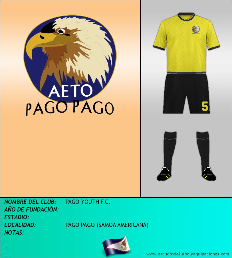 Escudo de PAGO YOUTH F.C.