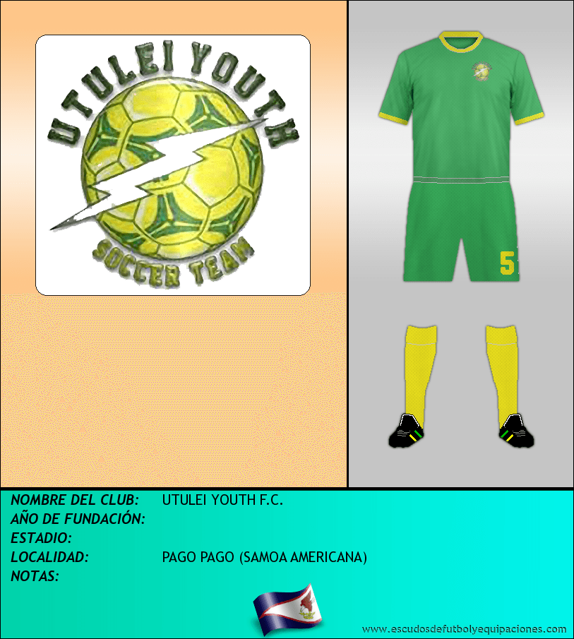 Escudo de UTULEI YOUTH F.C.