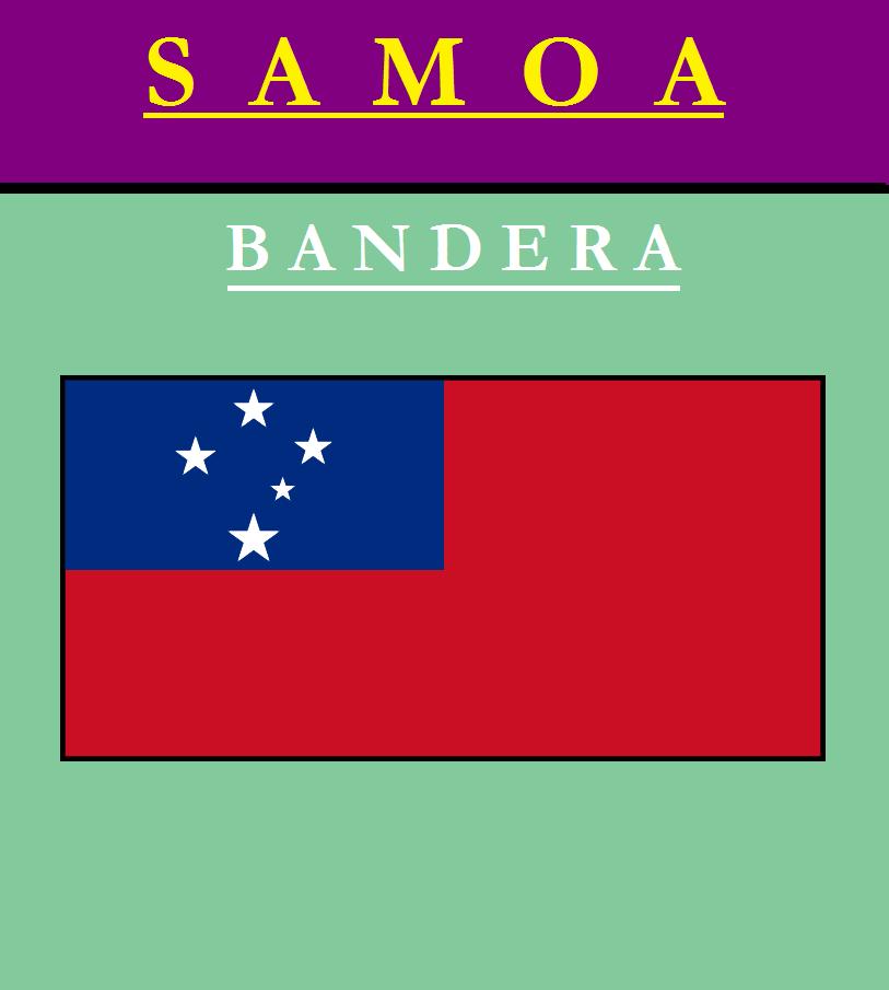 Escudo de BANDERA DE SAMOA