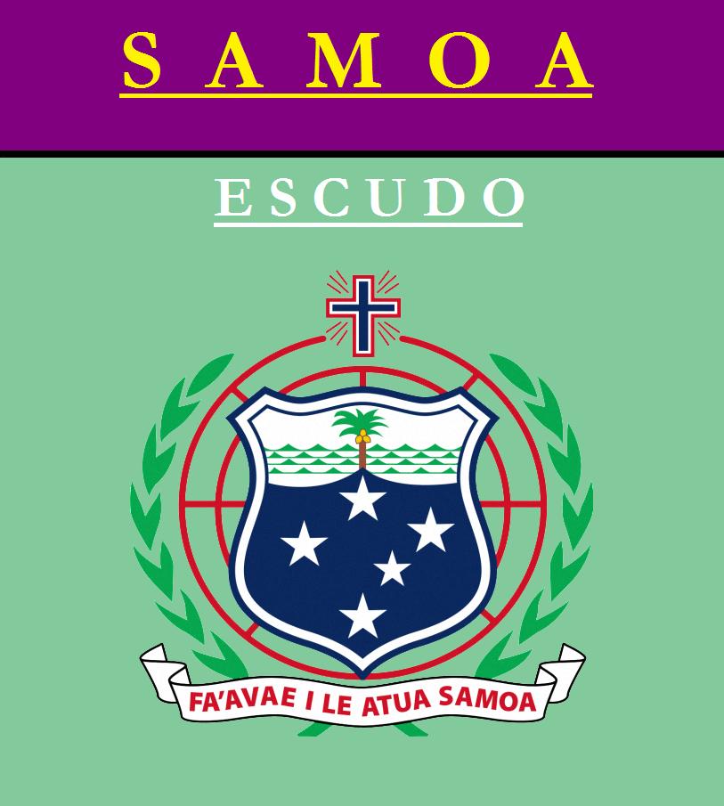 Escudo de ESCUDO DE SAMOA