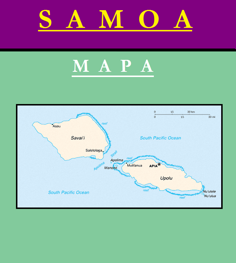 Escudo de MAPA DE SAMOA
