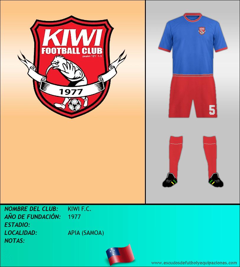 Escudo de KIWI F.C.