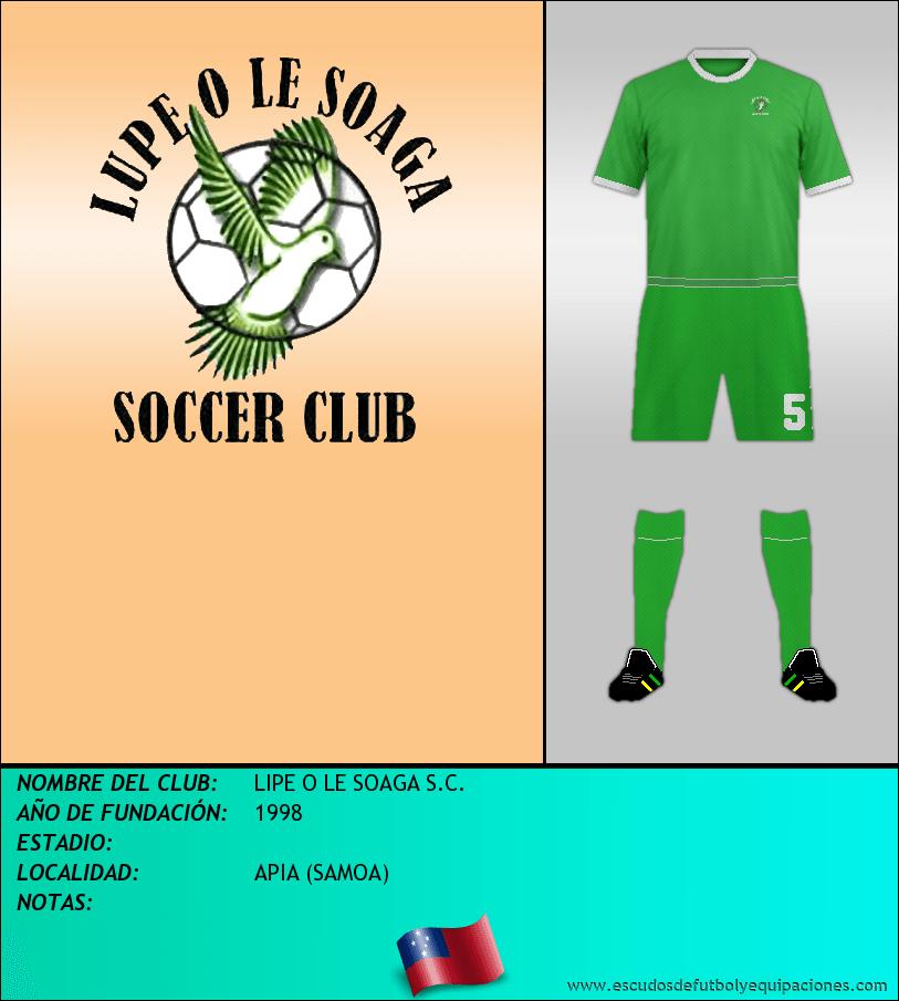 Escudo de LIPE O LE SOAGA S.C.