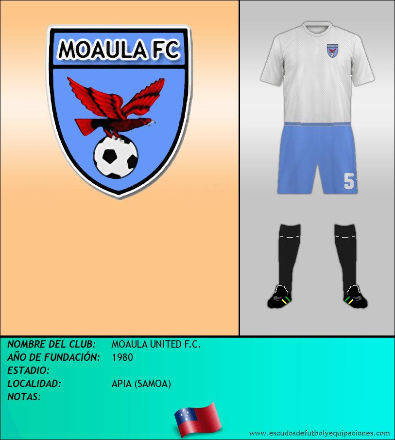 Escudo de MOAULA UNITED F.C.
