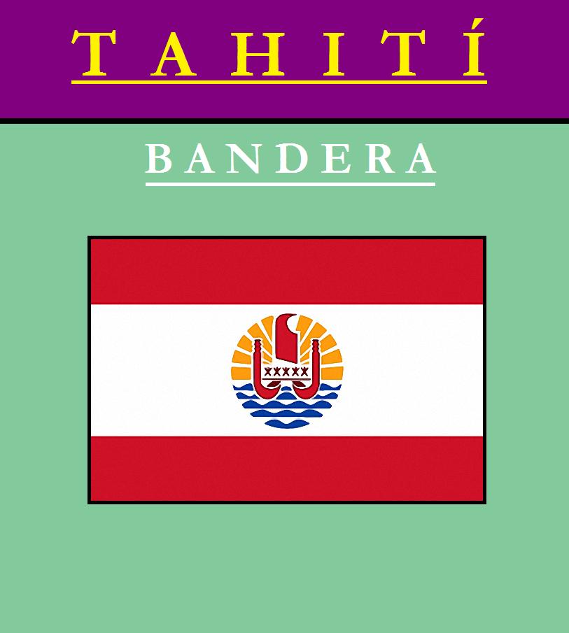 Escudo de BANDERA DE TAHITÍ
