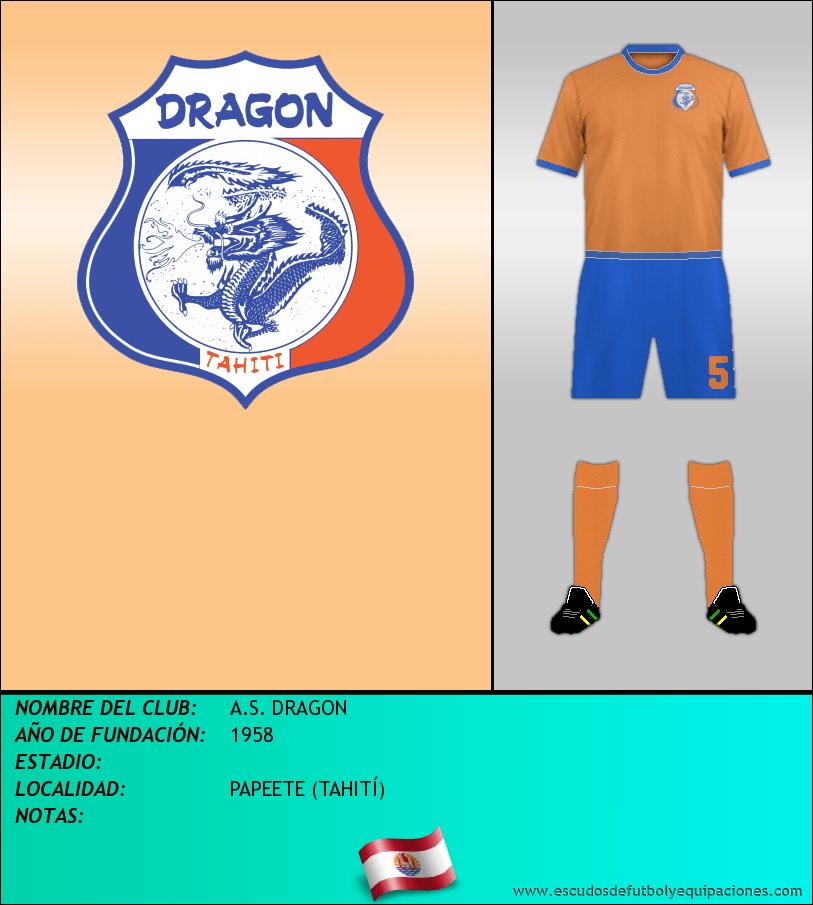 Escudo de A.S. DRAGON