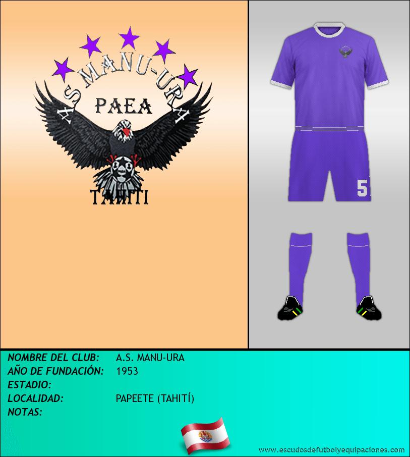 Escudo de A.S. MANU-URA