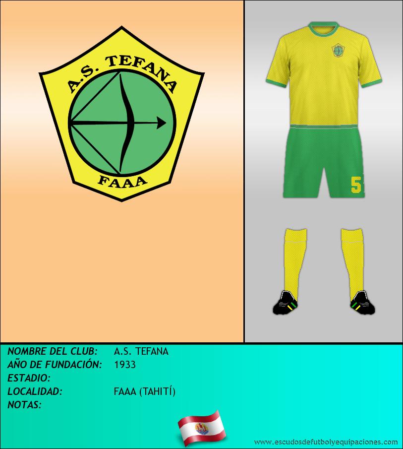 Escudo de A.S. TEFANA