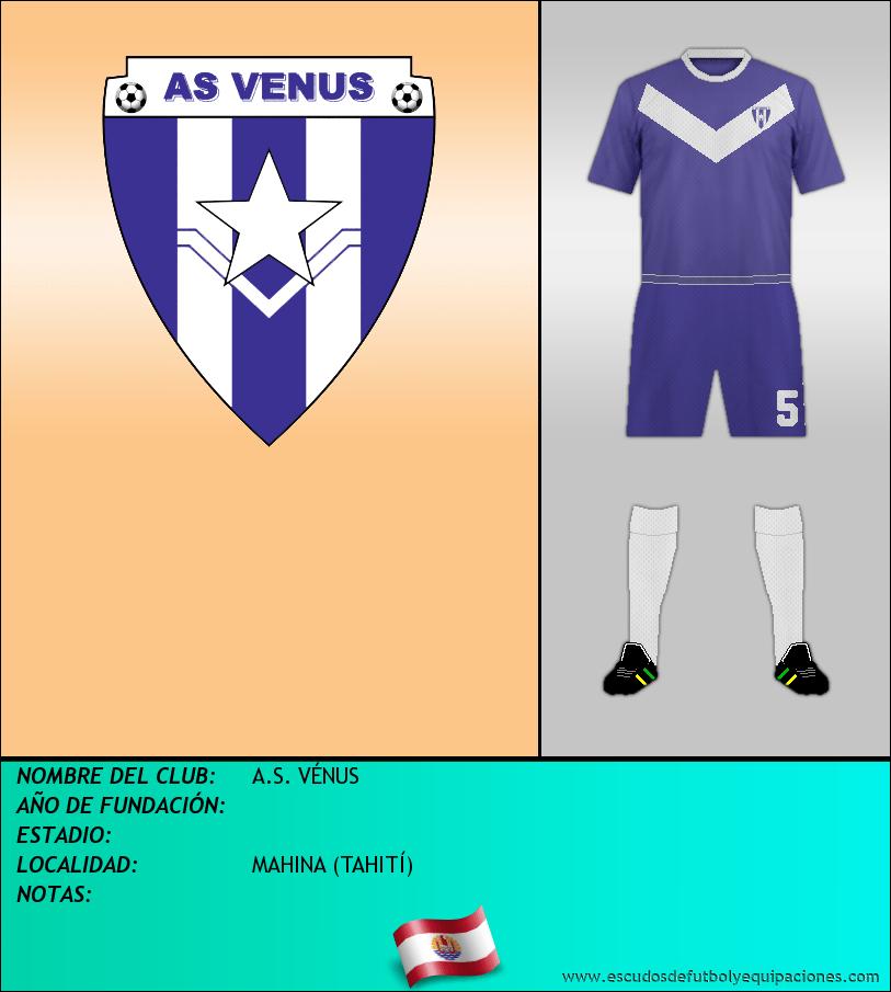 Escudo de A.S. VÉNUS