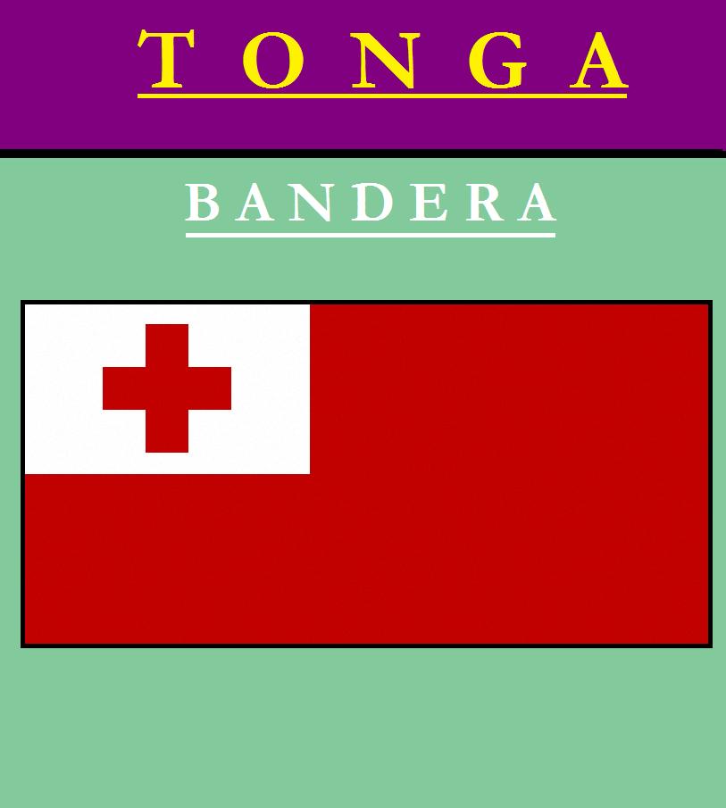 Escudo de BANDERA DE TONGA