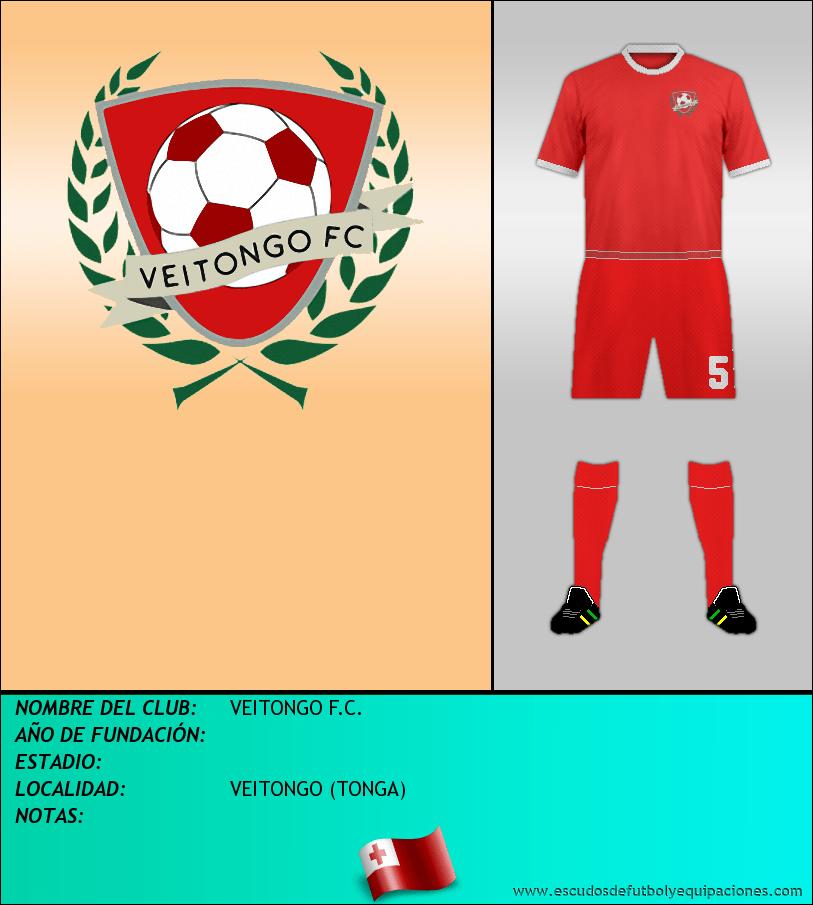 Escudo de VEITONGO F.C.
