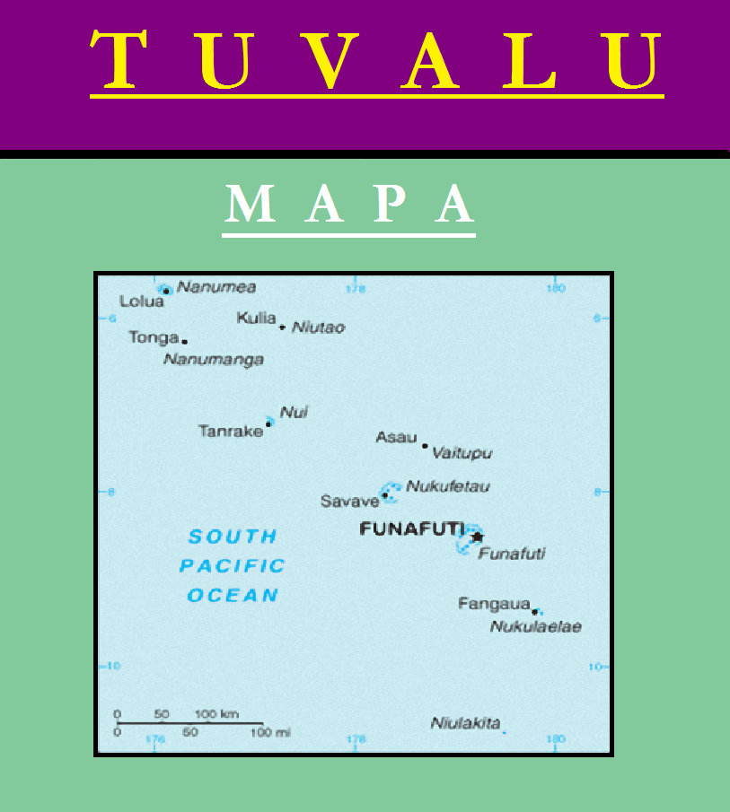 Escudo de MAPA DE TUVALU