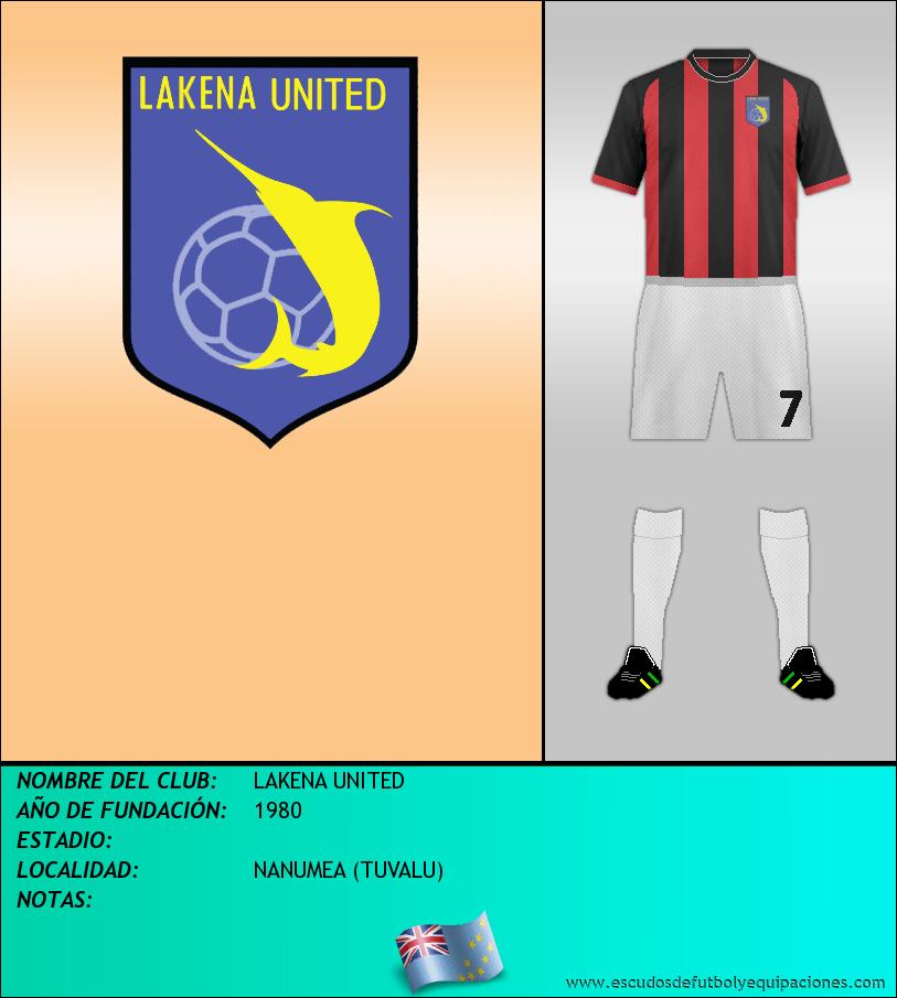 Escudo de LAKENA UNITED