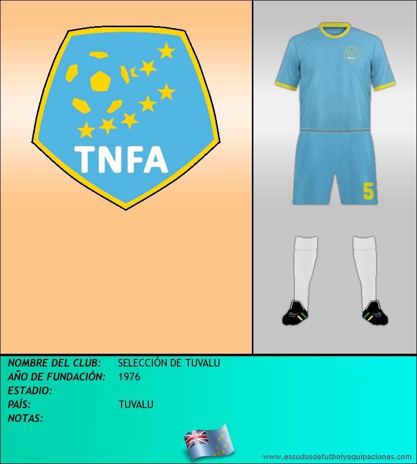 Escudo de SELECCIÓN DE TUVALU