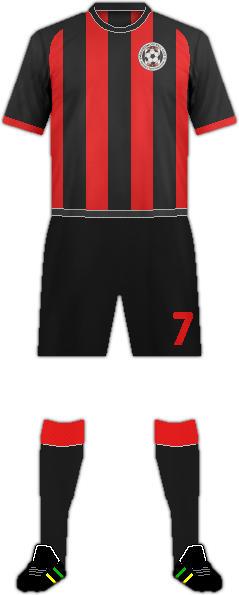 Equipación MAUWIA F.C.