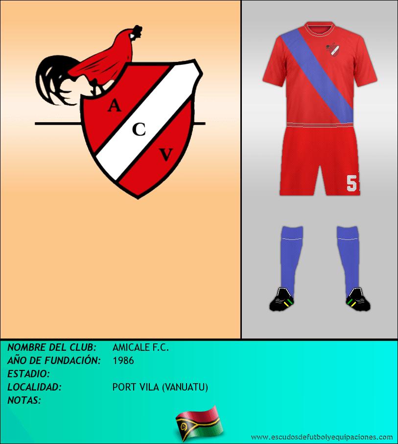 Escudo de AMICALE F.C.