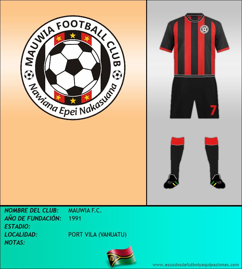 Escudo de MAUWIA F.C.
